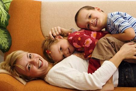 Счастье женщины в детях
