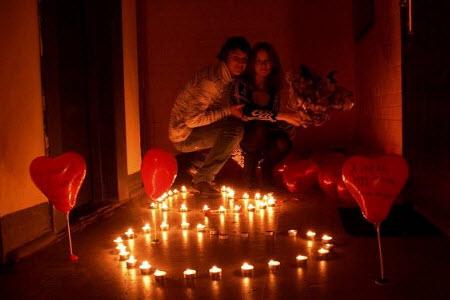 поднять настроение девушке романтическим свиданием