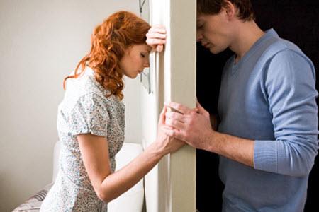 Ссора с мужем или возлюбленным