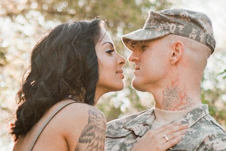 Как встретить парня из армии